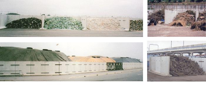 コンクリート擁壁使用事例