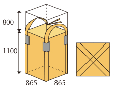 角型フレコン