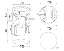 内袋付き コンテナバッグ(0.15mm)