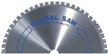 グローバルソー一般鉄鋼用チップソー 径305・355mm 低音型(1枚)