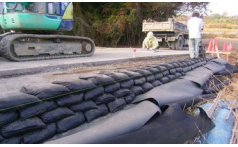 萩原工業 国産耐候 UVブラック土のう(耐候5年)  200枚入り