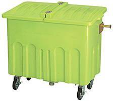 反転バー付きエコカート(フタなし)600 色:ライトグリーン