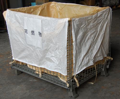 メッシュパレット用 フレキシブルコンテナバッグ1000×800×850H(10枚)
