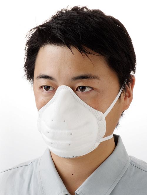 スーパーワン 使い捨て式防じんマスク DS2 1箱(20枚)