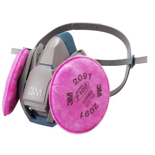 3M 取替式防じんマスク 6500QL/2091-RL3