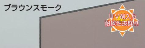 簡易内窓・パーテーション用ポリカーボネート板ブラウンスモーク 2枚入×3個