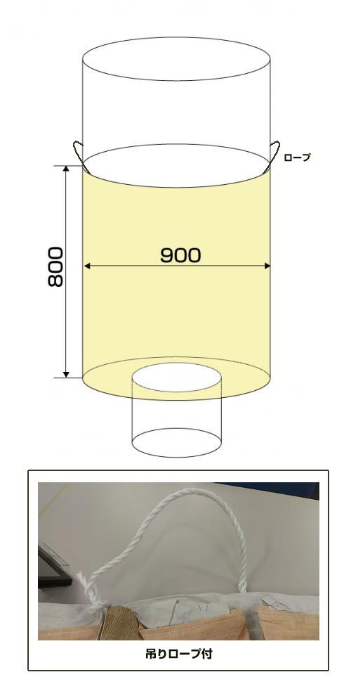 フレキシブルコンテナバッグF 小型 (反転なし・UVあり)10枚