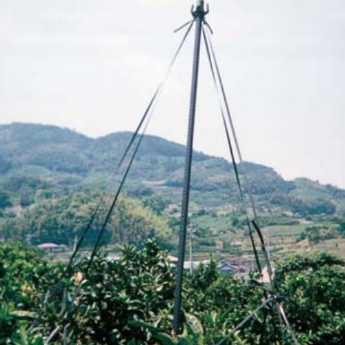 果樹枝吊り支柱 33×3.3 黒 (10本)