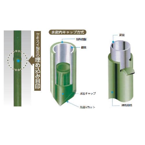 大型トンネル支柱 Φ16 2型 16S-236 グリーン (20本)