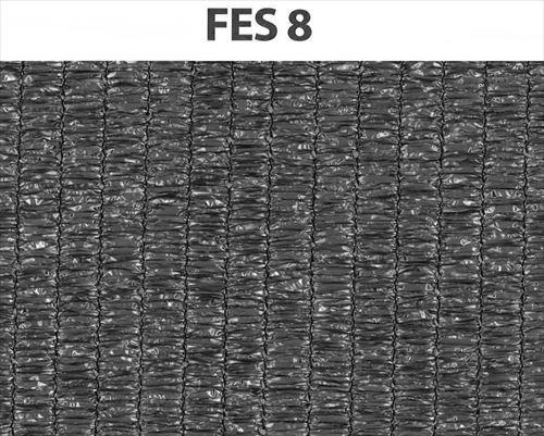 ワイドラッセル遮光ネットシルバー FES 8  2×50m