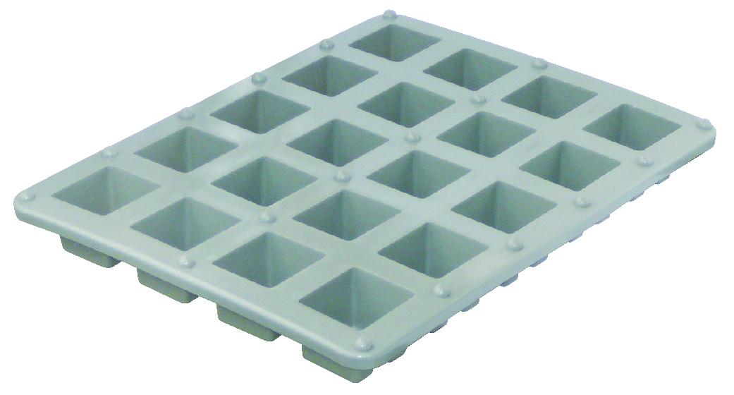 樹脂サイコロ枠5・6・7・8 (20個取り×5枚入り)