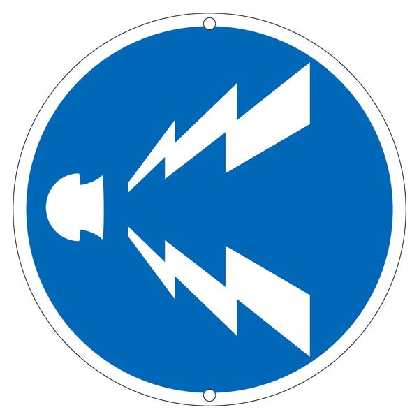 道路標識板 道路 328 警笛鳴らせ(1枚)