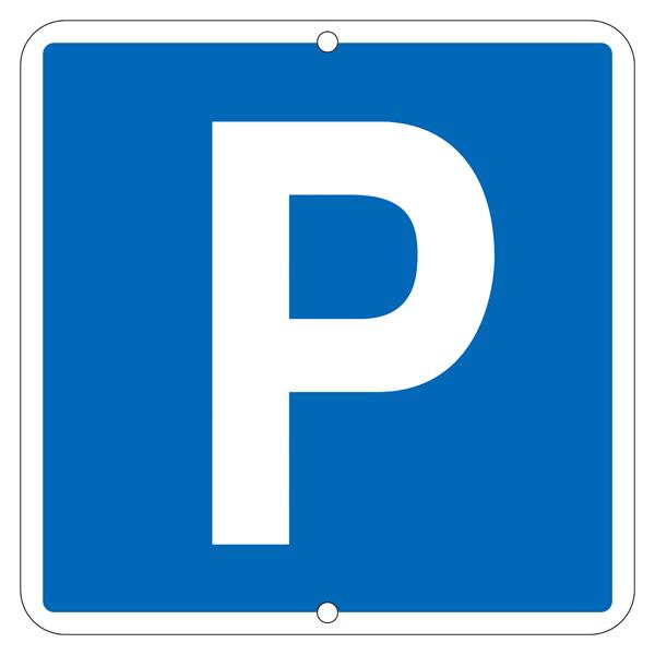 道路標識板 道路 403 駐車可 600mm角×1mm (1枚)